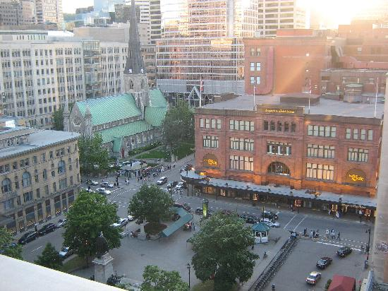 Le Square Phillips Hotel & Suites: View from Rooftop Patio