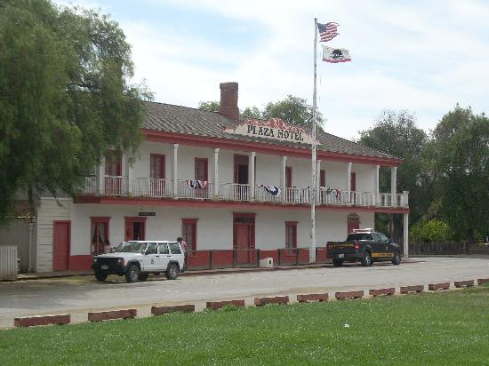 San Juan Bautista Ca Plaza Hotel Now State Park Hq