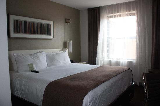 Hotel Felix: view from door