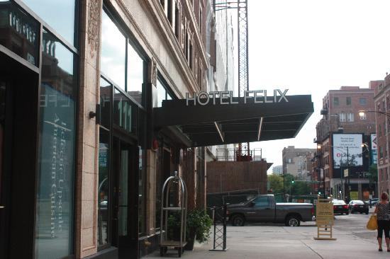 Hotel Felix: outside of hotel