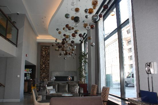 Hotel Felix: lobby