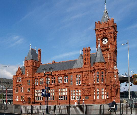 Hotels On Cardiff Bay: The Exchange Building, Cardiff Bay