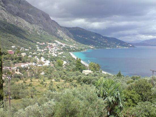 Nautilus Hotel: Blick vom Balkon auf Barbati