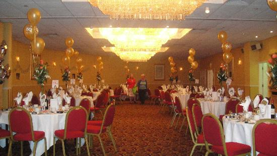 Hallmark Hotel London Chigwell Prince Regent: function Hall
