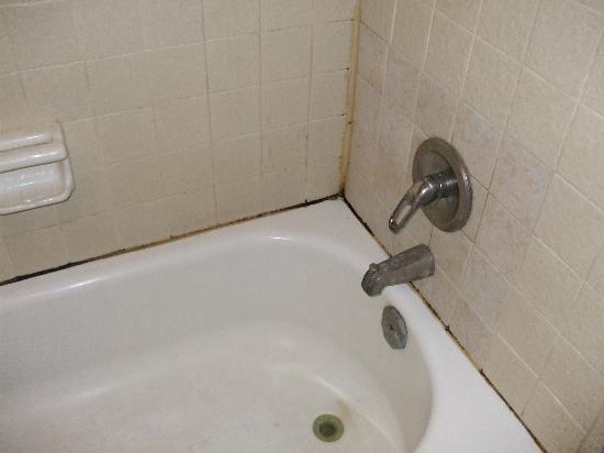 Colonial Inn: Discusting bath tub