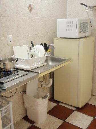 Apartamentos-Hotel Avilla: Kitchenette