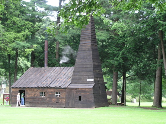 Titusville, Pennsylvanie : pump house