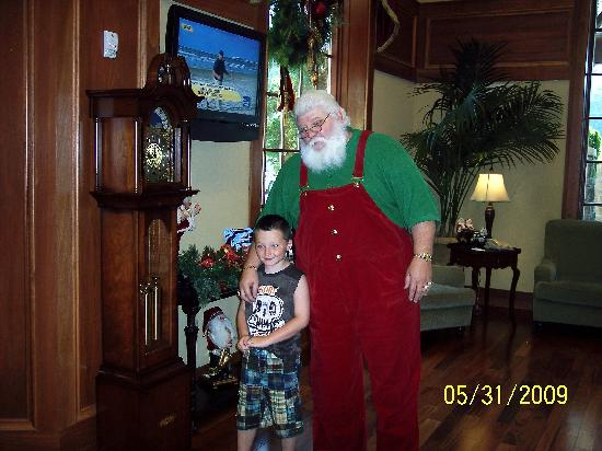 My Christmas Inn.Santa And My Son Picture Of The Inn At Christmas Place