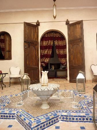 Riad Al Rimal: Entrance to the suite