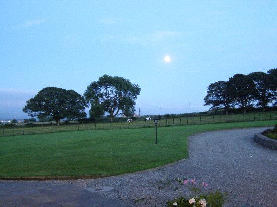 Neuadd Lwyd: The sky at 10.30pm