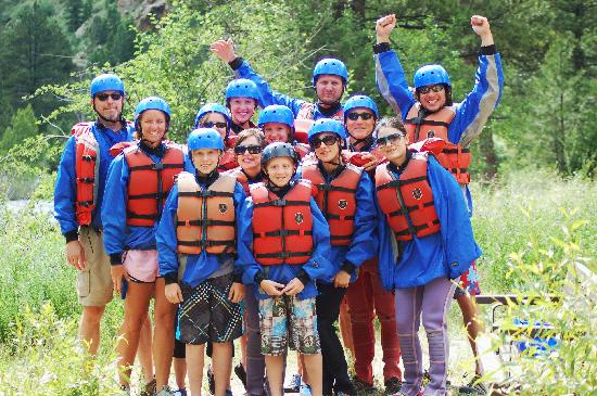 A-1 Wildwater Rafting: Before we got a little wet.