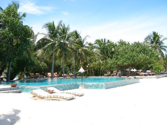 Taj Exotica Resort & Spa: the pool area