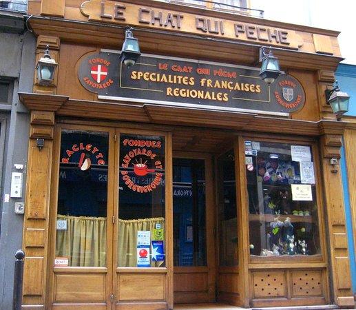 Le chat qui peche paris od on saint michel for Hotel design 75005