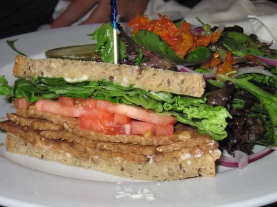Triumph Brewing Company: 1/2 of the Tempeh BLT