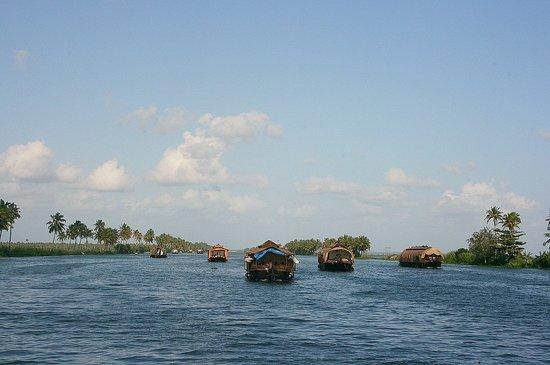 Κεράλα, Ινδία: Backwaters of Kerala