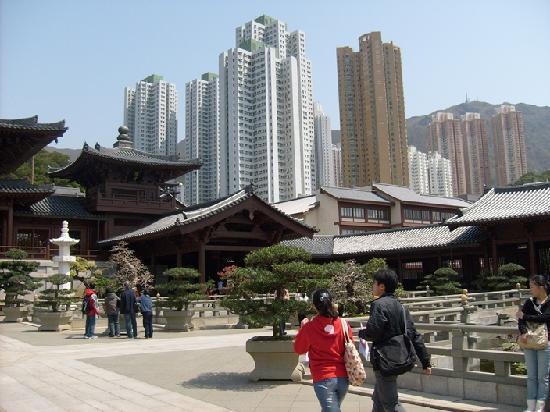 สำนักนางชี ชีหลิน: Nunneklostret mitt i stan