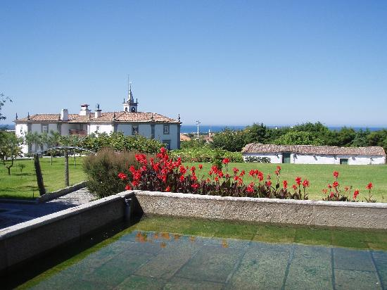 Quinta do Monteverde: The main building and the ocean