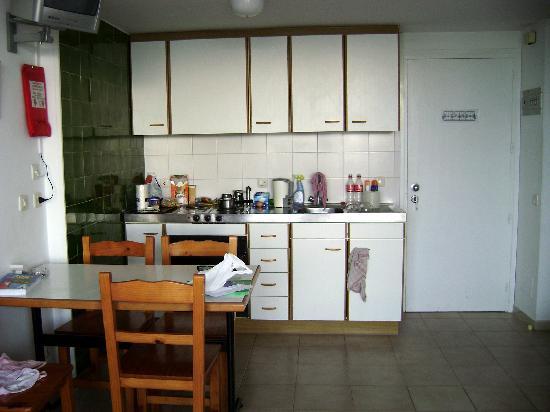Apartaments Miami: Küche