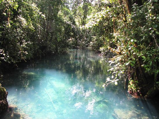 Chisec, Guatemala: pond