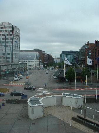 Radisson Blu Royal Hotel, Helsinki: 部屋からの外の眺め
