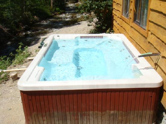 Cottonwood Hot Springs Inn & Health Spa : Cabin 4 pool