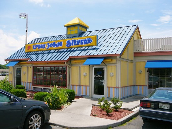 Long John Silver's LLC (also formerly known as Long John Silver's Seafood Shoppe and sometimes abbreviated as LJS) is an American fast-food restaurant chain that specializes in seafood. The brand's name is derived from the novel Treasure Island by Robert Louis Stevenson, in which the pirate