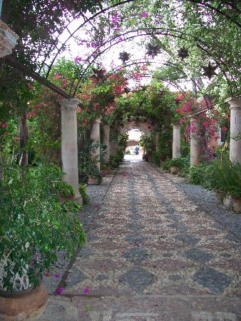 Inner Garden At The Hacienda Picture Of Hacienda De Trancas San
