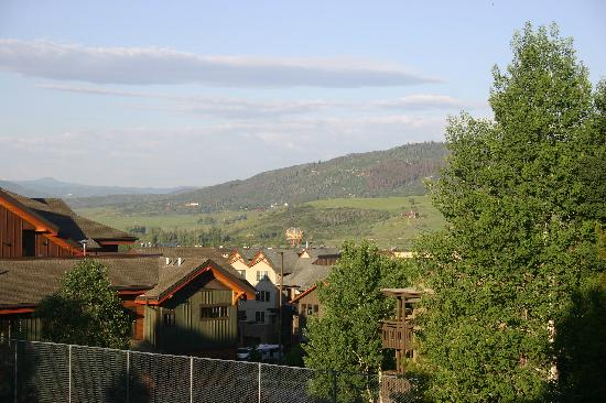 The Lodge At Steamboat: view from condo in morning