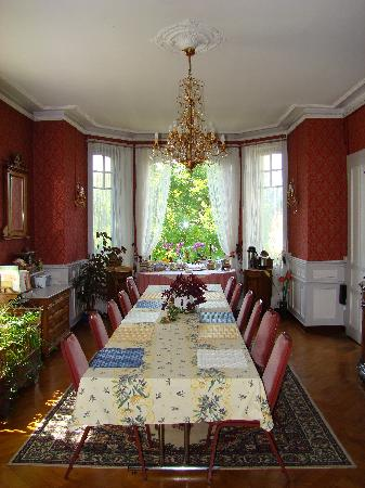 My Lady's Manor: Dining Room where breakfast served