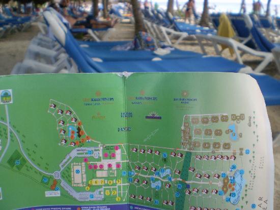 Grand Bahia Principe Punta Cana: Plano del Hotel