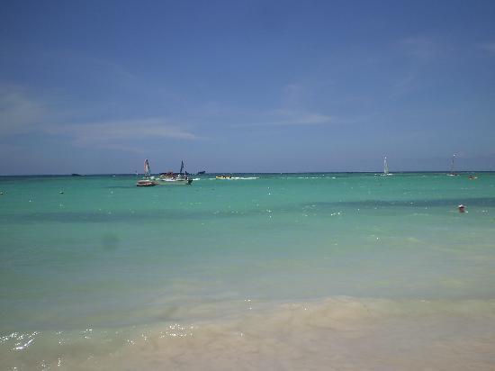 Grand Bahia Principe Punta Cana: Playa del Hotel Gran Bahia Principe