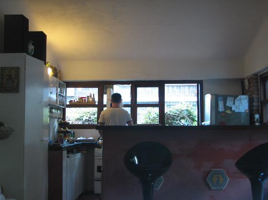 La Lomita del Chingolo B&B: a cozinha