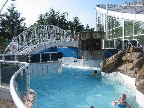 Outside Section Of Pool Picture Of Center Parcs Whinfell Forest