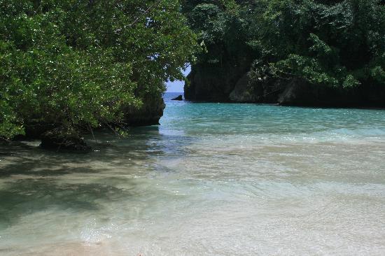 Frenchman's Cove Resort: Frencman's Cove Beach