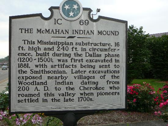 The McMahan Indian Mound Photo