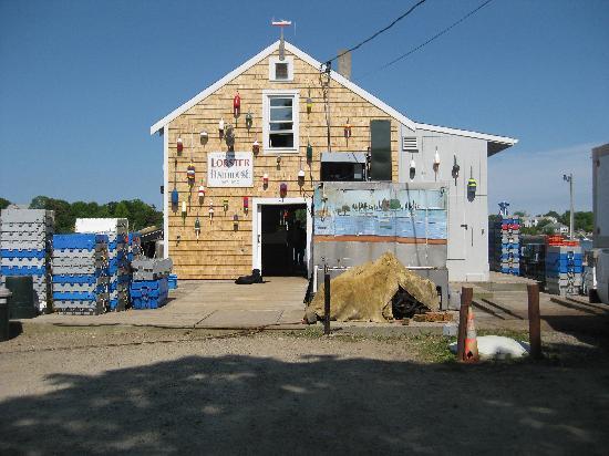 The Cape Porpoise Motel: poissonnerie de Cape Porpoise
