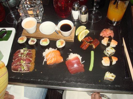 Pershing Hall: Assiette Japonaise