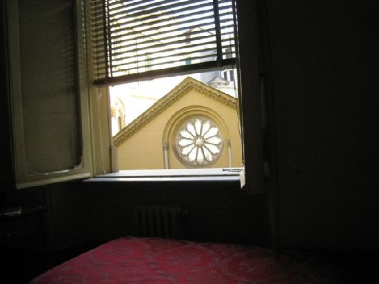 Nostra Signora di Lourdes: View from my bed in the morning