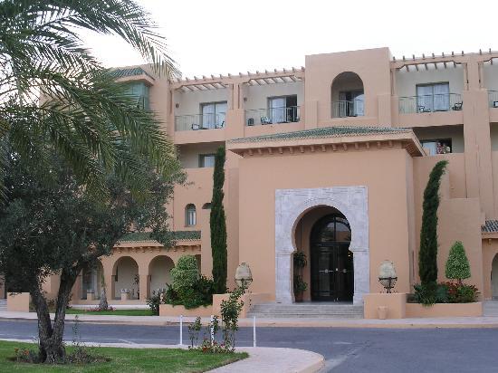 Alhambra Thalasso Hotel : Hotel entrance area