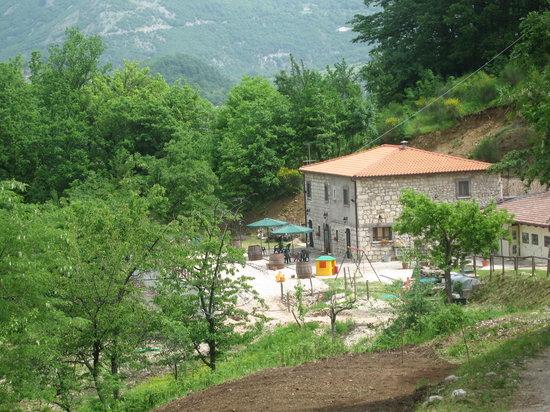 Cusano Mutri, Italie : la struttura