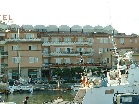 Hotel L'Approdo: vista frontale