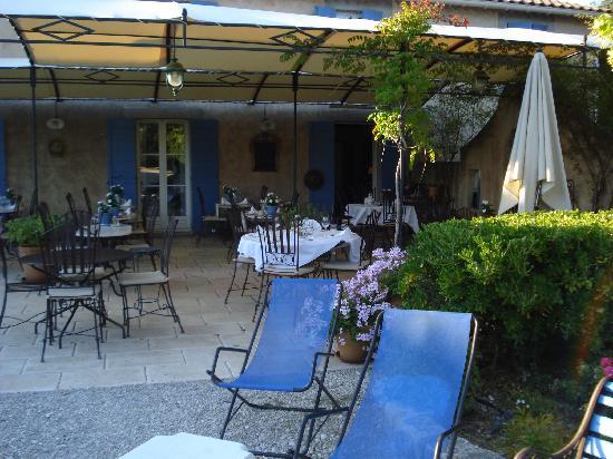 La Bastide d'Eygalières : terrasse