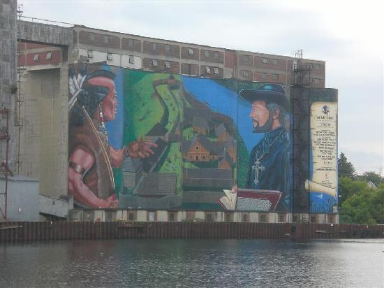 Midland, Canada: mural