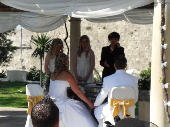 The Phoenicia Malta : wedding ceromony