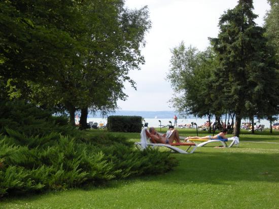 Hotel Azur: sehr gepflegte Parkanlage
