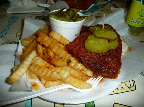 Photo of American Restaurant Prince's Hot Chicken Shack at 123 Ewing Dr, Nashville, TN 37207, United States