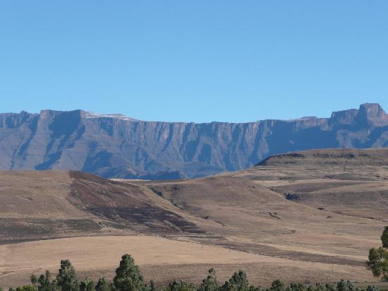 uKhahlamba-Drakensberg Park, Zuid-Afrika: View from lodge