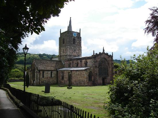 The most ancient church in the Peak District - St Mary's, Wirksworth