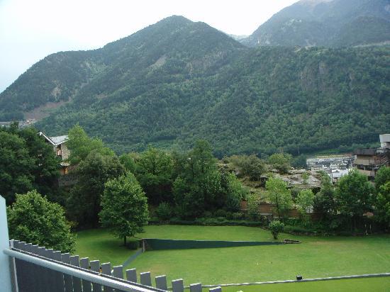 Andorra Park Hotel : Vista desde la terraza