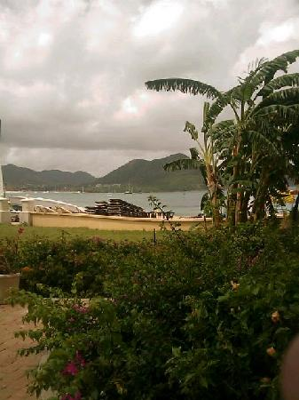 The Landings St. Lucia: View from beach front villa